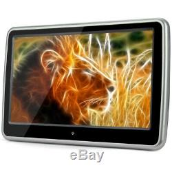 10.1 inch LCD HD Touch Screen Car Headrest DVD Player FM SD IR USB Game Player