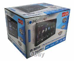 2-DIN 10.3 LCD Touchscreen BT/AUX/USB/CD/DVD Head Unit VR-1032XB