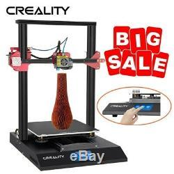 3D Printer DIY Kit 300x300x400mm 1.75mm PLA filament Digital LCD Touch Screen AA