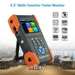 3.5 Touch Screen CCTV Monitor Tester POE 8MP 4k IP Camera AHD TVI Test Monitor