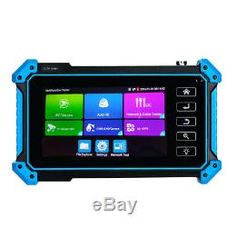 5 Inch 8MP CCTV Tester Monitor Touch Screen ONVIF POE PTZ HD OUT Portable Audio