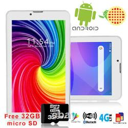 7.0 Android 9.0 Tablet PC 4Core Phablet GSM 4G Phone FREE 32GB microSD Unlocked