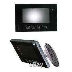7 LCD 6 Apartments Flats Touch Screen Video Door phone Night Vision Intercom