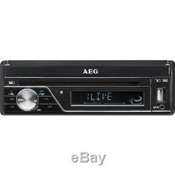 AEG Autoradio AR 4026 7-Zoll-Monitor LCD/DVD/BT/USB DVD-Player Touchscreen