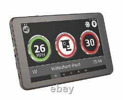 Aguri Truck TX740 DVR with 7 LCD, HD Dash Cam, Wi-Fi and UK & Ireland mapping
