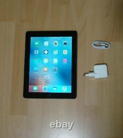 Apple iPad 4. Gen. 16GB, Wi-Fi 24,64 cm, (9,7 Zoll) schwarz black silber TOP