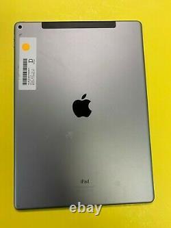 Apple iPad Pro 1st Gen 128GB Wi-Fi + 4G (Unlocked) 12.9 in Gray LCD DISCOLOR