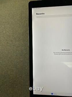Apple iPad Pro 2nd Gen 256GB Wi-Fi 12.9 in Gray LCD DISCOLOR