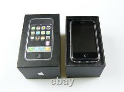 Apple iPhone 1. Generation/2G 8GB Schwarz! Ohne Simlock! OVP! TOP! IMEI gleich