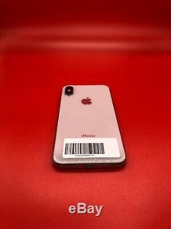Apple iPhone X 64GB Unlocked Silver BAD LCD