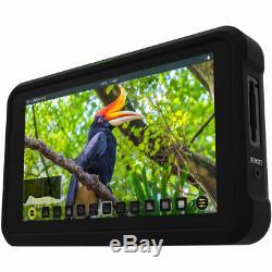 Atomos Shinobi 5.2 4K HDMI Monitor ATOMSHBH01 + 3 Batteries and Charger Bundle