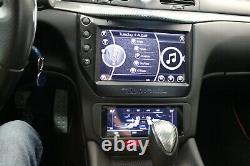AuCar Touchscreen LCD Climate Control 08-17 Maserati Granturismo Carbon Fiber