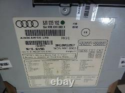 Audi Tt Mk2 Navigation Plus 8j0035192 Sat Nav Cd/tv LCD Without Code