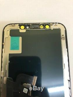 BLACK iPhone X Assembly Genuine OEM OLED Digitizer Touch Screen LCD Replacement