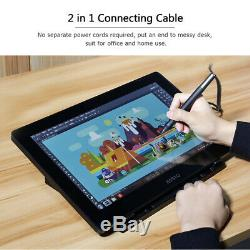 BOSTO 15.6Inch LCD Graphics Drawing Tablet Display USB Touchscreen H-IPS With Pen