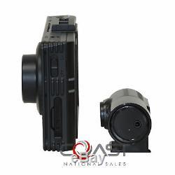 BlackVue 2 Chan. 3.5 LCD Dashcam Dual Full HD 1080P 30fps Camera DR490L-2CH