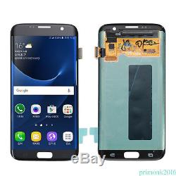 Black Samsung Galaxy S7 Edge G935 LCD Display Touch Digitizer Screen Replacement
