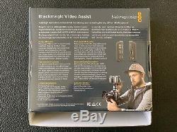 Blackmagic Design Video Assist 5 Monitor SDI/HDMI Recorder Free Mini SDI to SDI