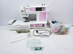 Brother PE500 Personal Embroidery Machine LCD Touch Screen Computerized