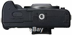 Canon EOS M50 3 Inch LCD 24.1MP 4K WiFi Built in Flash Vlogger Kit Black