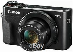 Canon G7X MKII 20.1MP 4.2x Zoom 3 Inch LCD WiFi Vlogger Camera Starter Kit