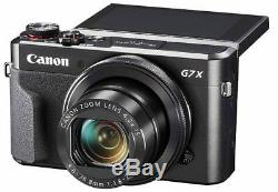 Canon PowerShot G7 X Mark II Digital Camera with 1 Inch Sensor and tilt LCD screen
