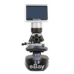 Celestron 400x Tetra View LCD Digital Microscope 4.3 180° LCD Touchscreen 44347