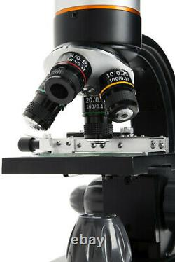 Celestron TetraView LCD Digital Touch Screen Microscope, Black/Silver 44347