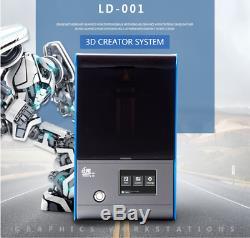 Creality LD-001 LCD SLA 3D Printer UV Resin 3.5'' Touch Screen 120X70X120mm