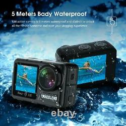 DUAL SCREEN ACTION CAMERA 4K 60fps 20mp Keelead K80 Camera with 2.0 Touch LCD