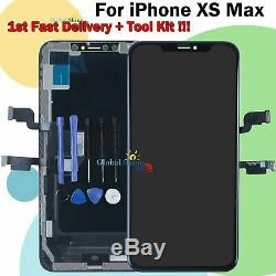 Display Black For Apple iPhone XS MAX OLED LCD Touch Screen Digitizer Frame UK