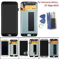 Display LCD Touch Screen Digitizer per Samsung Galaxy S7 Edge G935 G935F/S7 G930