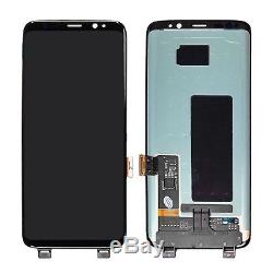 Display LCD + Touch Screen Schermo Per Samsung Galaxy S8 G950 SM-G950F Nero Kits