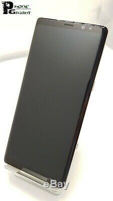 Displayreparatur Samsung Galaxy Note 8 N950F LCD Touchscreen Rahmen gold