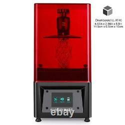ELEGOO Mars 3D Printer Resin Drucker 3,5 LCD Touchscreen Slicing UV Beleuchtung