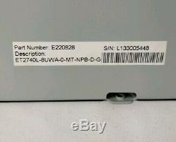 ELO 27 LCD Touchscreen Display VGA/DVI USB Black E220828 ET2740L Intellitouch
