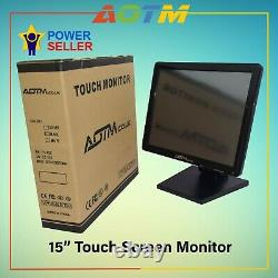 EPOS 15 Touch Screen LCD Monitor for restaurant, retails and Hospitality, pos