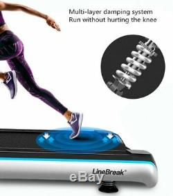 Folding Treadmill Home Exercise Bluetooth Speakers HD LCD Screen Multifunctional