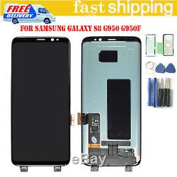 For Samsung Galaxy S8 SM-G950F Full LCD Display + Touch Screen Digitizer Black