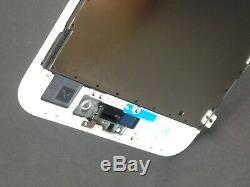 For iPhone 8 Plus Lcd Screen Replacement White Touch Screen Digitizer Front Lens