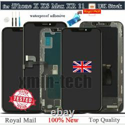 For iPhone X XR XS Max 11 Pro 12 Screen Replacement LCD OLED 3D Touch Digitizer