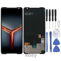 Für Asus ROG Phone II ZS660KL Display LCD Einheit Touch Screen Reparatur Schwarz