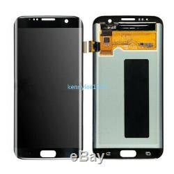 Für Samsung Galaxy S7 Edge G935F LCD Display Touchscreen Digitizer Schwarz+Cover