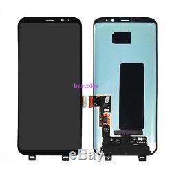 Für Samsung Galaxy S8 Display G950F LCD Bildschirm Touch Screen Schwarz+cover