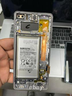 Genuine SAMSUNG GALAXY S10 Plus G975 LCD TOUCH DISPLAY SCREEN Black-Grade C