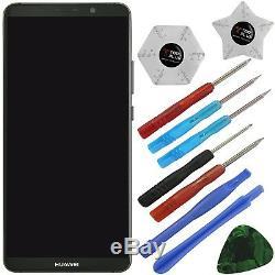 Huawei Mate 10 Pro Komplettes LCD Display Touchscreen Grau Schwarz mit Rahmen