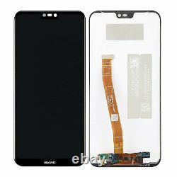 Huawei P20 Lite Komplettes Display LCD Touchscreen Ane-l02 Mega Set Schwarz
