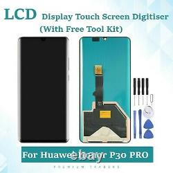 Huawei P30 Pro Replacement LCD Display Touch Screen Digitiser Assembly UK BLACK
