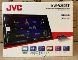 JVC Car/Van CD DVD USB Double Din 2DIN Stereo Bluetooth iPod iPhone 6.2 LCD