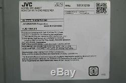 JVC KW-V820BT RB DVD/CD Player 6.8 LCD Apple CarPlay Bluetooth